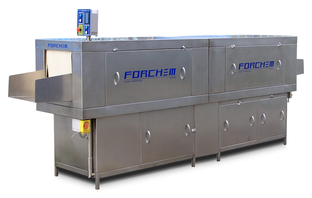 Forchem mp 150s box washer with blowing module